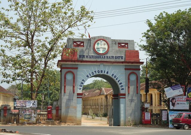 Govt Victoria College Palakkad Entrance