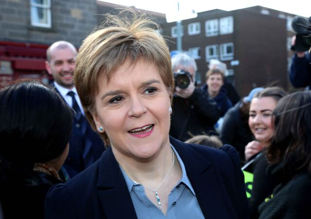 Nicola Sturgeon, First Minister of Scotland and leader of the Scottish National Party (SNP)