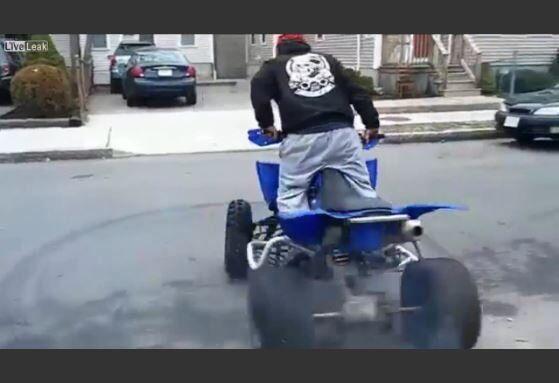 ATV has broken man bone