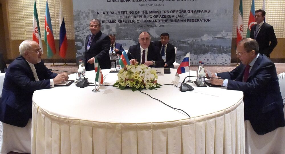 Trilateral meeting of foreign ministers of Russia, Azerbaijan and Iran