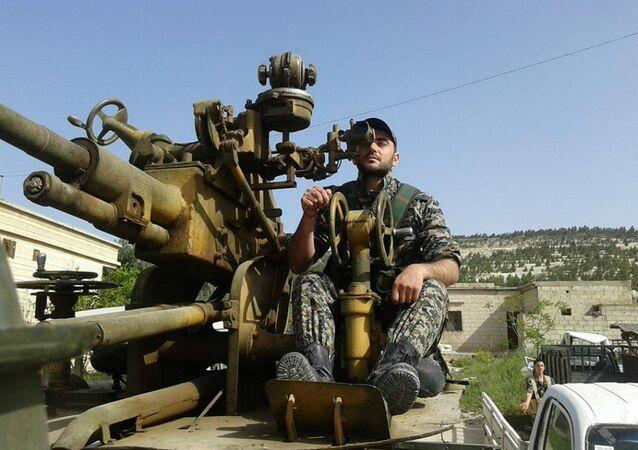 Khaldun Da'oun, IT guy turned anti-Daesh fighter