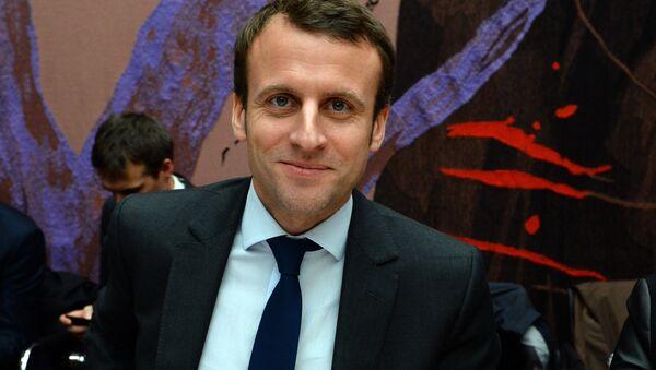 French Economy Minister Emmanuel Macron - Sputnik International