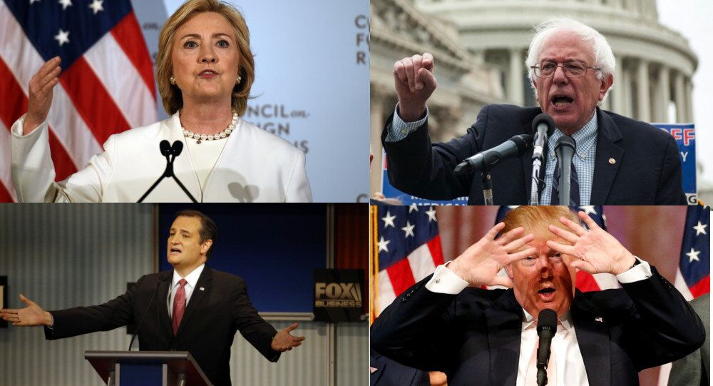 2016 US presidential candidates