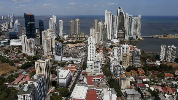 A general view of a high income neighborhood of Panama City, April 6, 2016 - Sputnik International