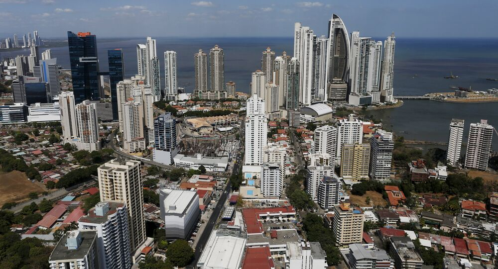A general view of a high income neighborhood of Panama City, April 6, 2016