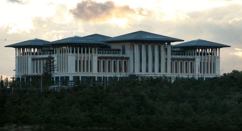 Ak Saray, new presidential palace in Ankara