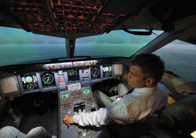 Staff personnel training center for Sukhoi Superjet 100
