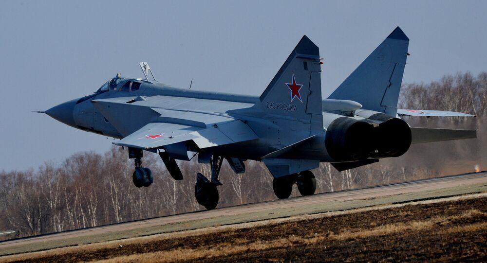 A MiG-31 Interceptor