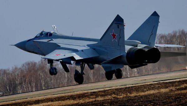 The MiG-31BM interceptor aircraft - Sputnik International