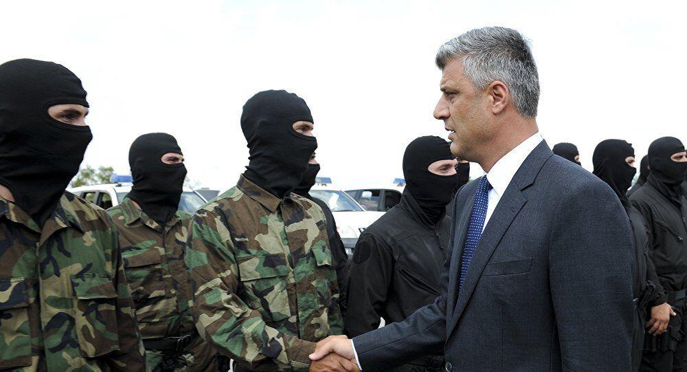 Hashim Thaci, Kosovo's new president.