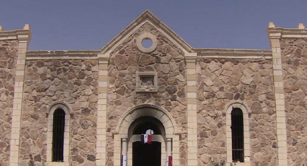 Footage of Christian Church Destroyed by Daesh in Liberated Town
