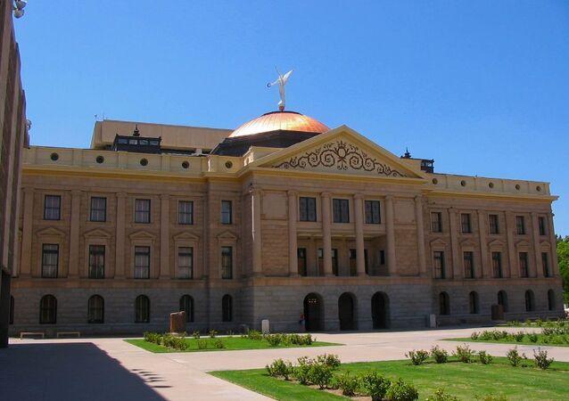 The Arizona State House, in Phoenix