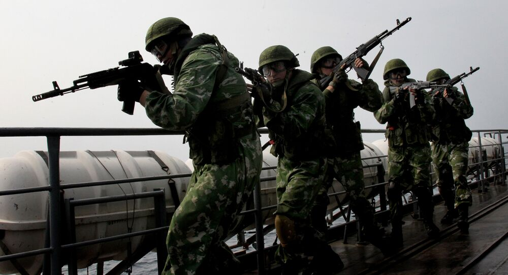 The combat readiness check of Russia's Eastern Military District's troops started on the Kuril Islands.
