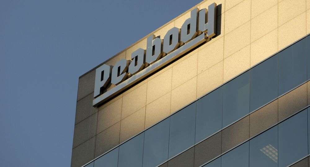 Peabody Energy headquarters in St. Louis. (File)
