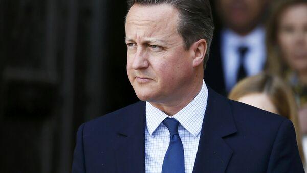 Britain's Prime Minister David Cameron - Sputnik International