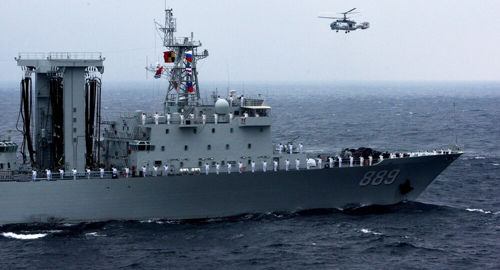 Russian-Chinese naval drill Joint Sea 2015 II in Vladivostok. file photo
