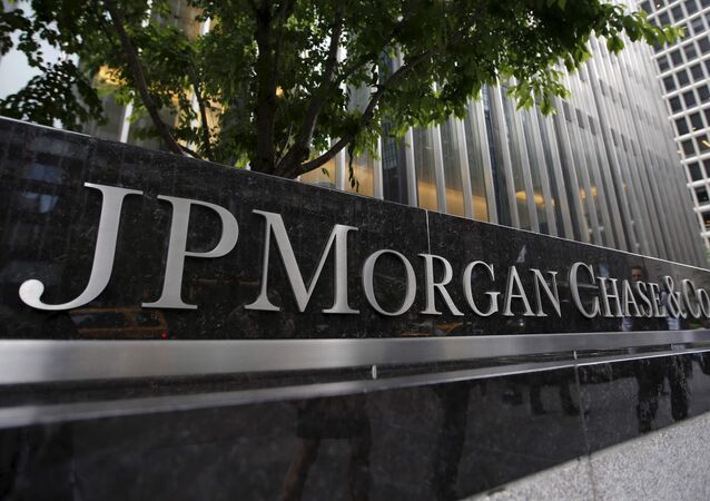 A view of the exterior of the JP Morgan Chase & Co (File)
