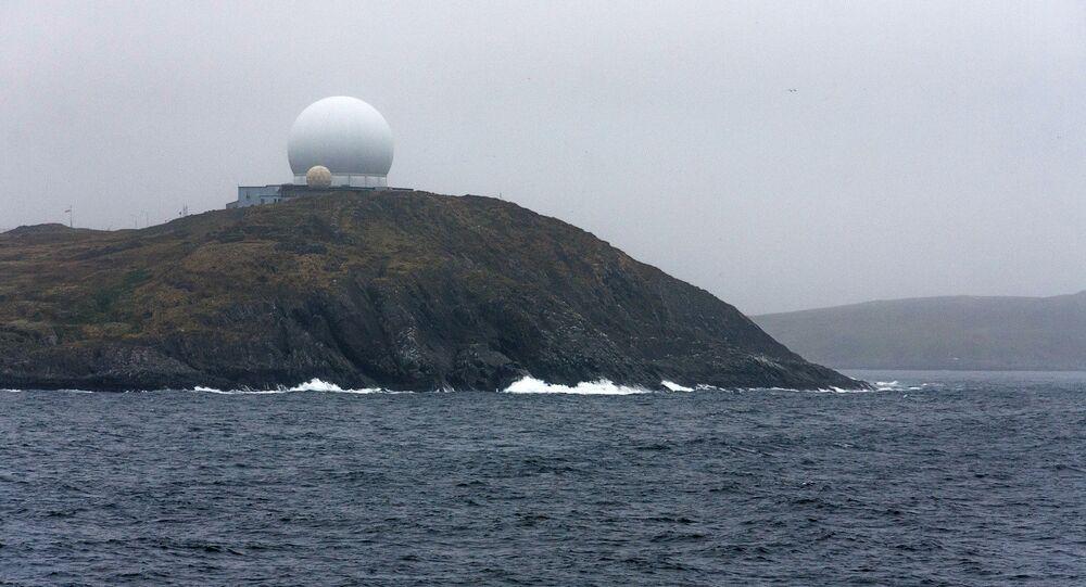Globus-II radar in Vardø, Norway