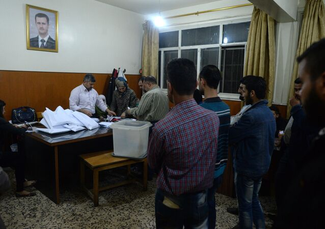 Parliamentary election in Syria