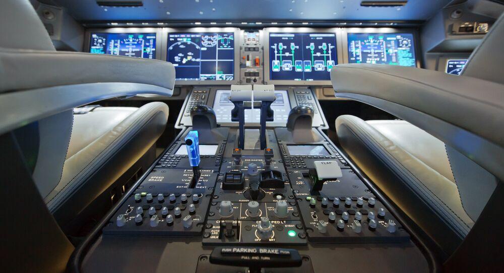 The MC-21's cockpit.