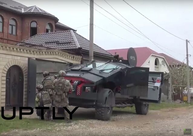 Russia: FSB's latest 'Punisher' military vehicle deployed in Dagestan