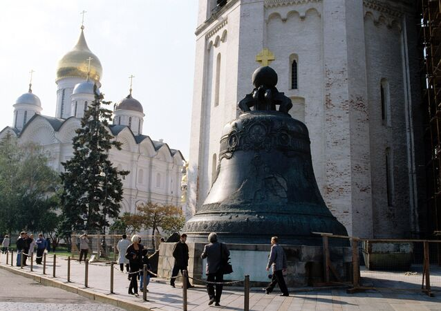 The 18th-century foundry art monument Tsar Bell