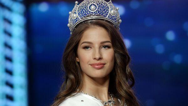 Miss Russia 2016 Yana Dobrovolskaya (Tyumen) in the finals of Miss Russia 2016 national pageant on the stage of Barvikha Luxury Village concert hall - Sputnik International