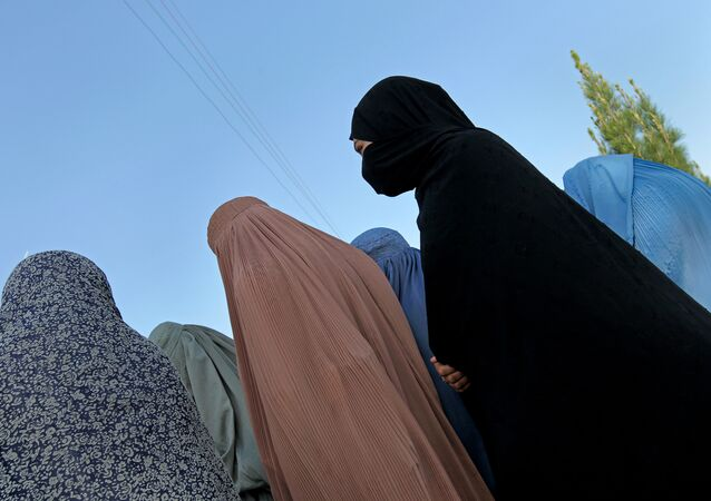 Women in burka