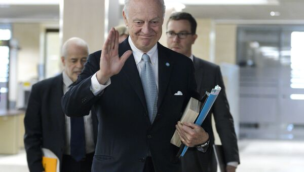 Staffan de Mistura, UN Special Envoy of the Secretary-General for Syria. - Sputnik International