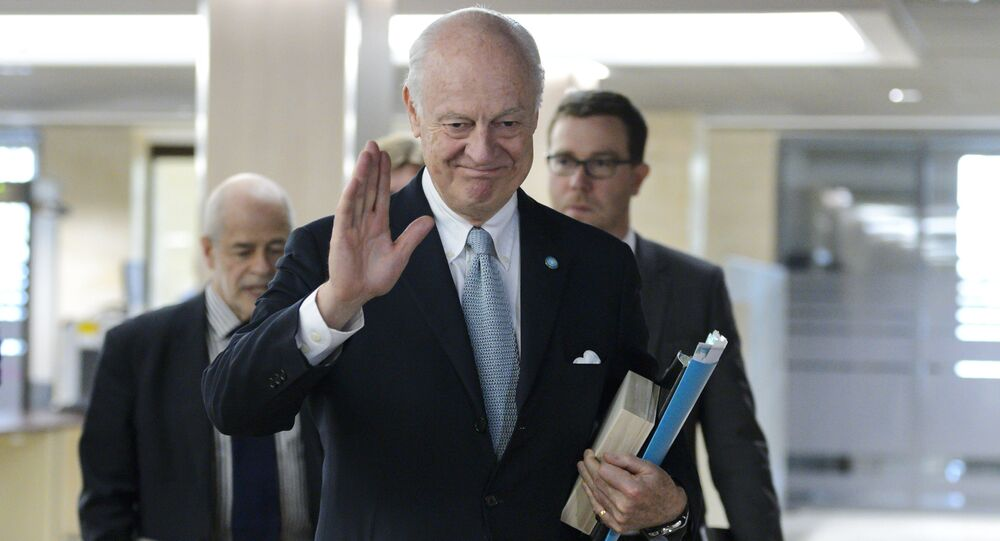 Staffan de Mistura, UN Special Envoy of the Secretary-General for Syria.