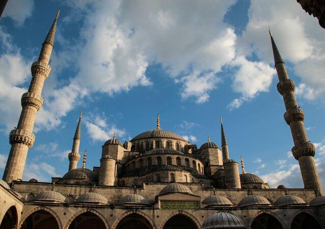 A mosque in Alexandria