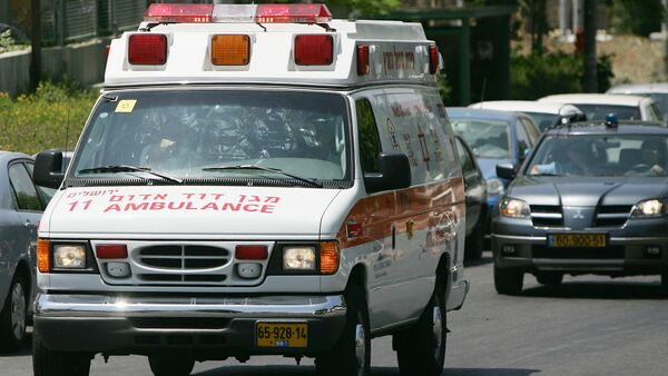 Israel ambulance - Sputnik International