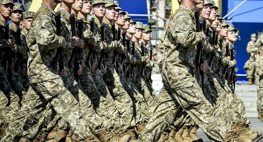 Ukrainian servicemen. (File)