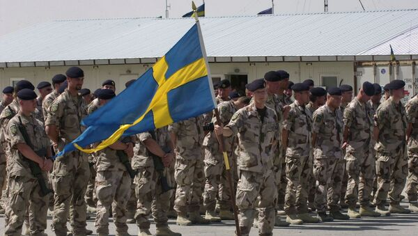 Swedish soldiers (file) - Sputnik International