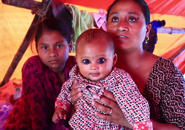 "Nepal Earthquake Miracle Baby "" Sonies Awal"""
