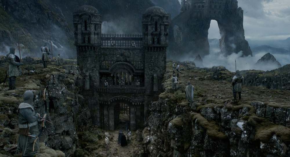 Panorama from the Game of Thrones tv series