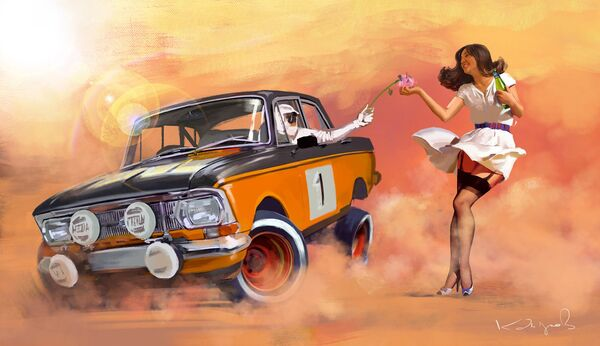 Apocalypse Now: Brand New Look of Soviet Cars - Sputnik International