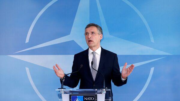 NATO Secretary General Jens Stoltenberg speaks after a NATO-Russia Council at the Alliance's headquarters in Brussels, Belgium, April 20, 2016. - Sputnik International