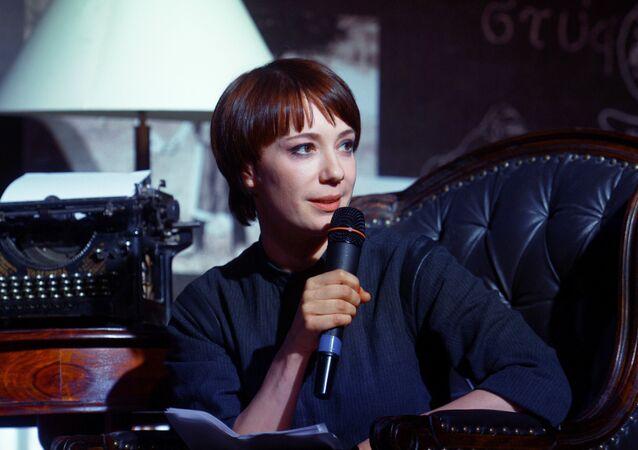 Russian actress Chulpan Khamatova