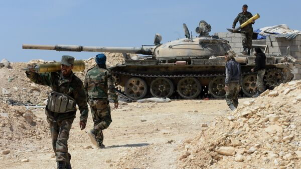 Syrian Army liberates city of al-Qaryatayn from militants - Sputnik International