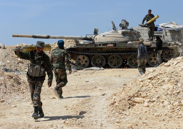 Syrian Army liberates city of al-Qaryatayn from militants