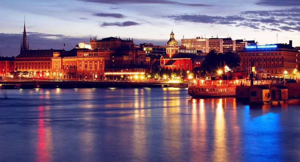 Evening in Stockholm