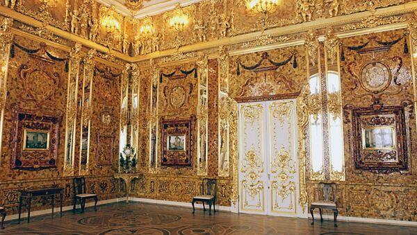 Amber Room in Catherine Palace - Sputnik International