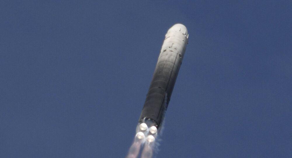 RS-18 (SS-19 Stiletto) intercontinental ballistic missile