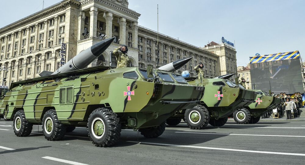 9K79 Tochka-U shorter-range missile systems of the Ukrainian Armed Forces