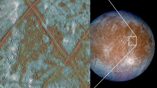 Jupiter's moon Europa - Sputnik International