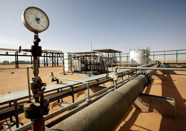 A general view of the El Sharara oilfield, Libya. (File)