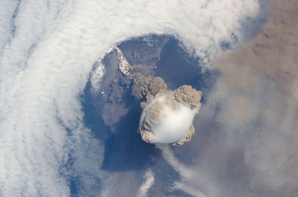 Terrifying Volcanic Eruptions as Seen From Space