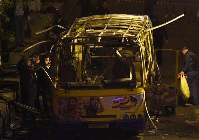 Armenian Bus Blast