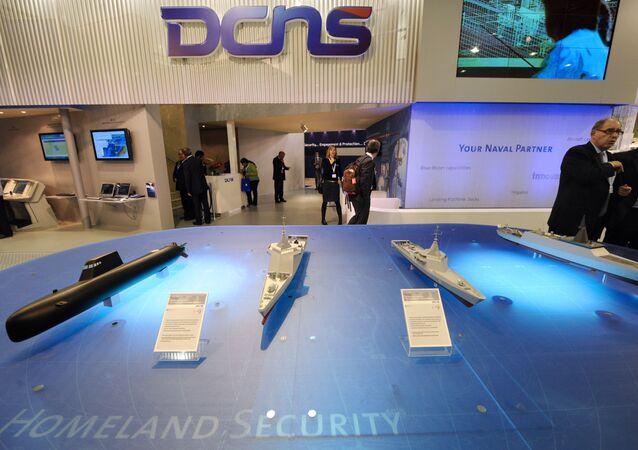 DCNS booth